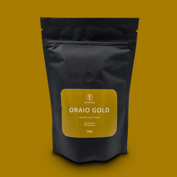 ORAIO GOLD strong coffee