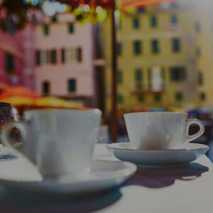 Italian coffee culture as a traditional ritual in Italian life