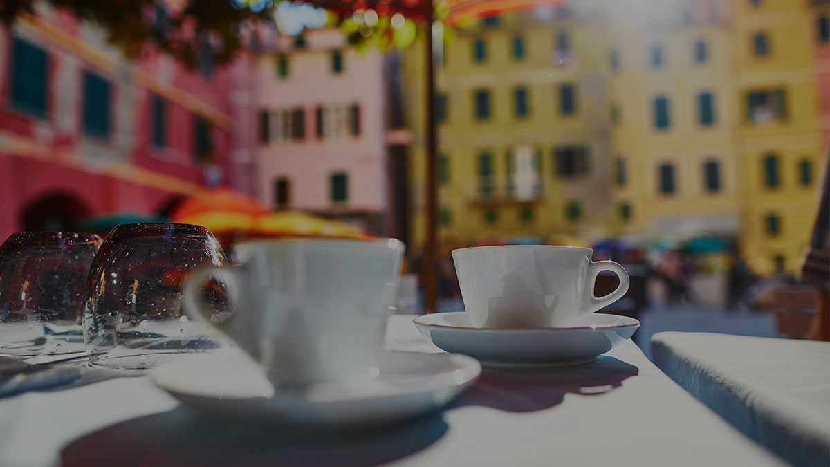 Italian coffee culture as a traditional ritual in Italian life