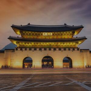 South Korea Seoul Gwanghwamun gate