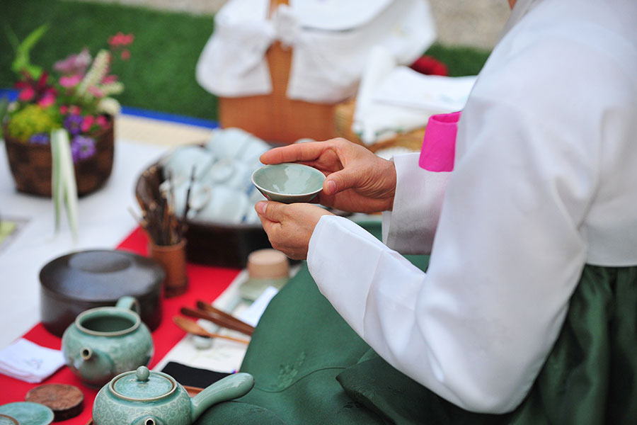 Dado - Korean traditional tea ceremony